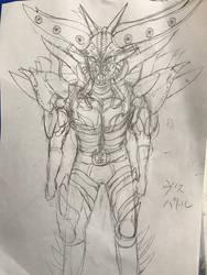 Visupetoru / Original Kaijin for Kamen Rider