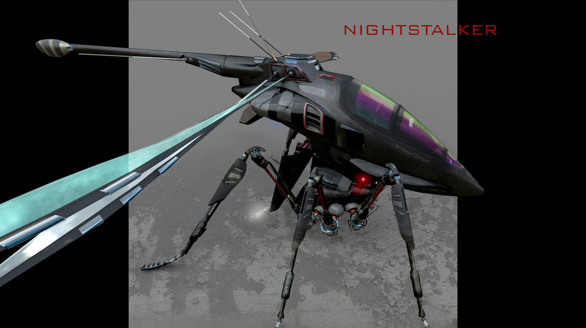 NightStalker Helo by Steel-Razors