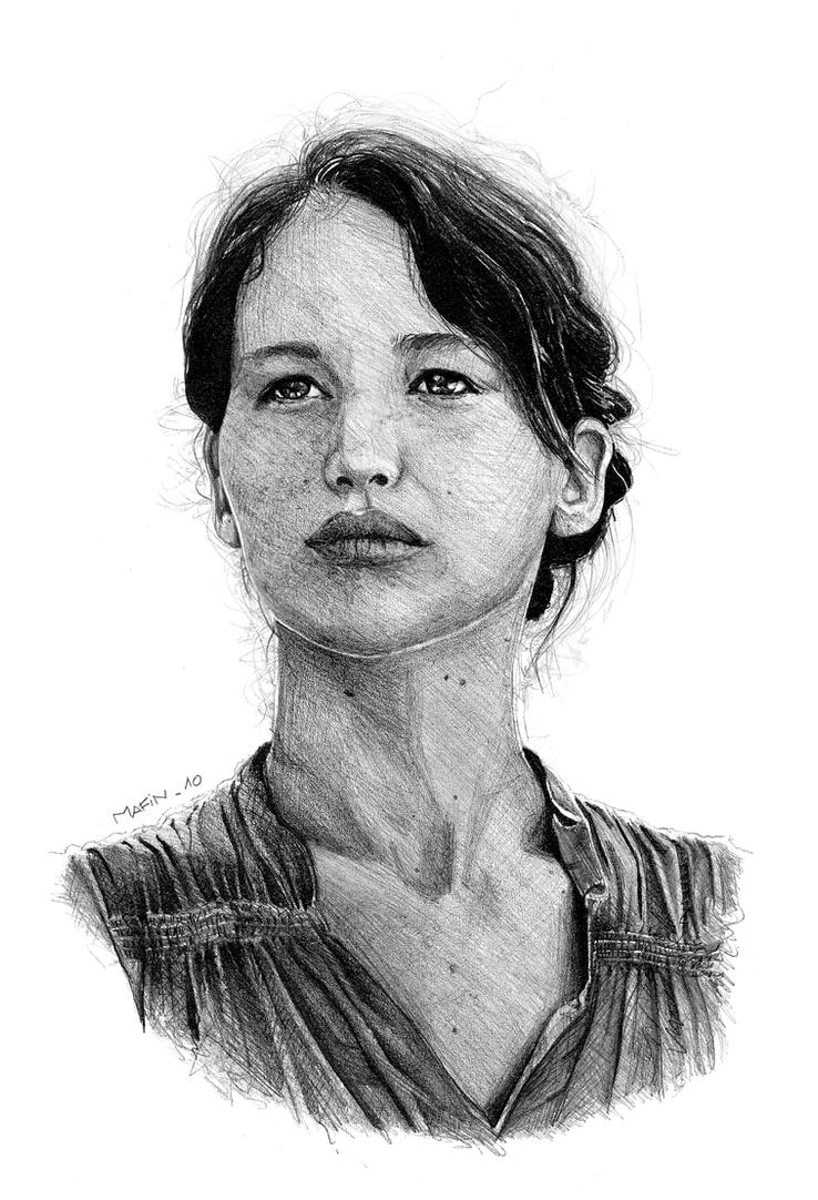 katniss by Mafin10