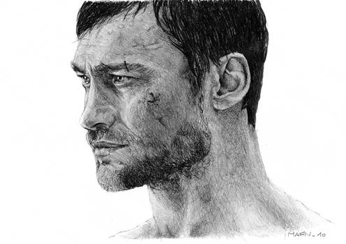Andy Whitfield as Spartacus wip