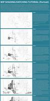 shading/crosshatching tutorial (portrait katniss)