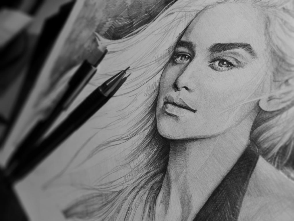 khaleesi wip by Mafin10