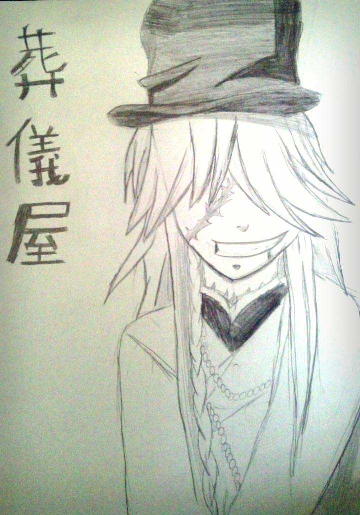 The UnderTaker~ Black Butler by akatsukifangirl8894