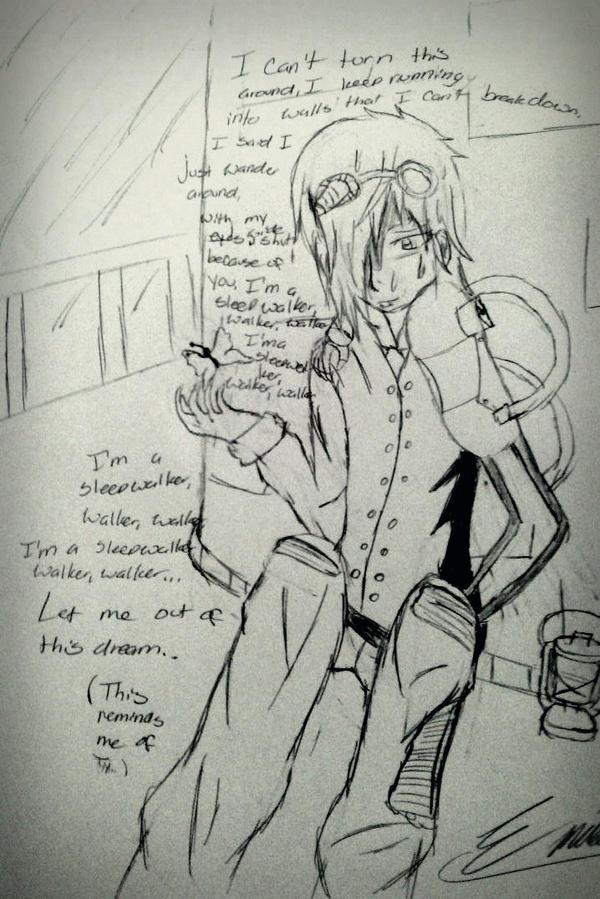 I'm a Sleepwalker- Adam Lambert by akatsukifangirl8894