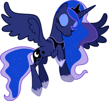 MLP Vector: Princess Luna by Azur-Wing