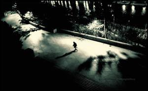 Lonely night by mjagiellicz