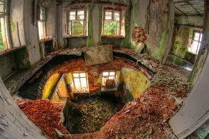 Ruined resort by mjagiellicz
