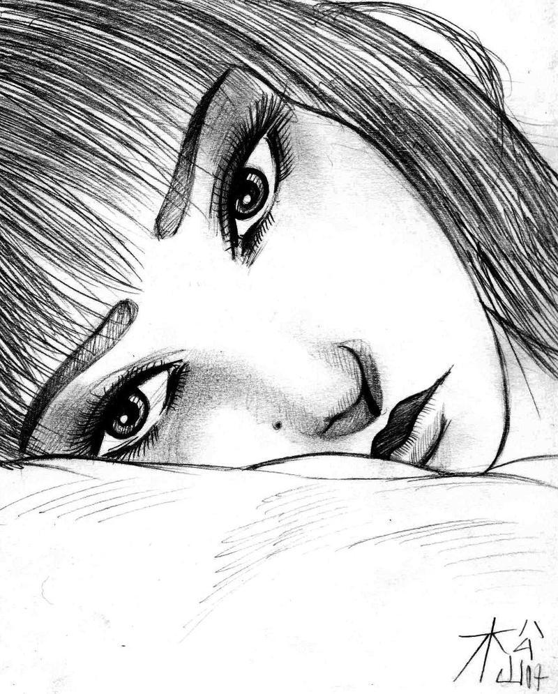 Alone girl by d matsuyama on deviantart