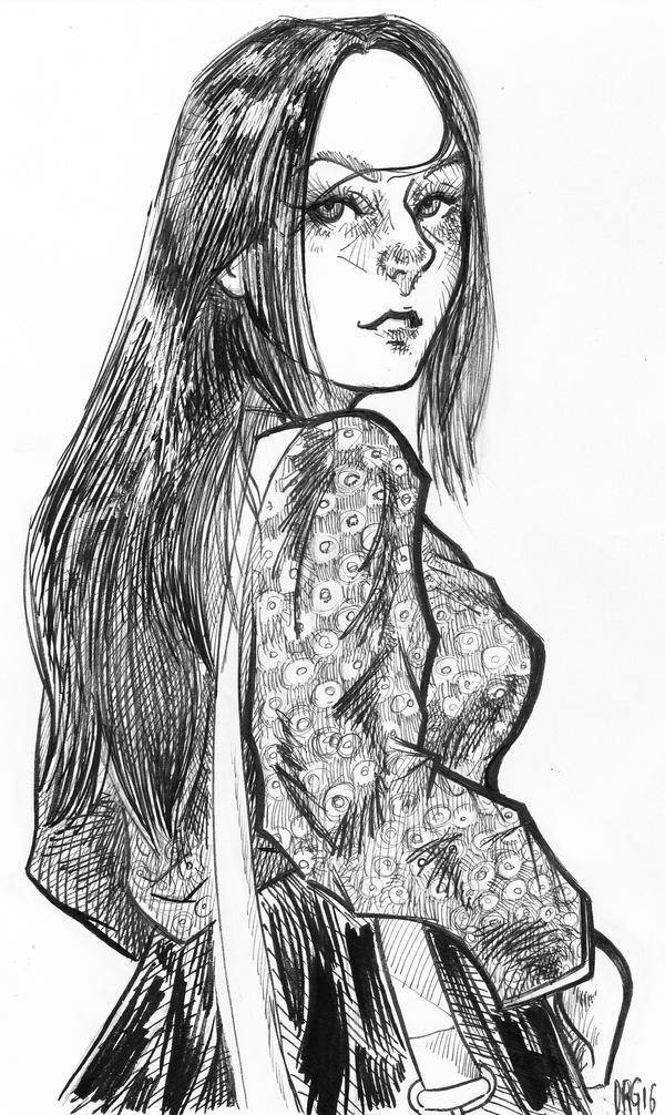 Long Hair by D-MATSUYAMA