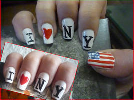 New York Nails by uutopicaa