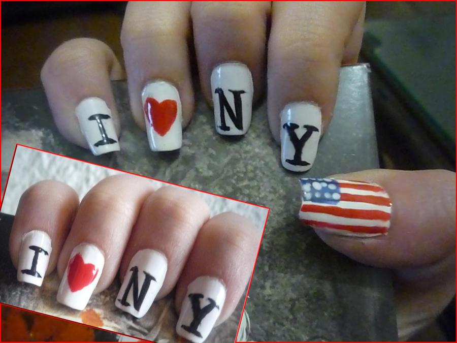 New York Nails by uutopicaa on DeviantArt