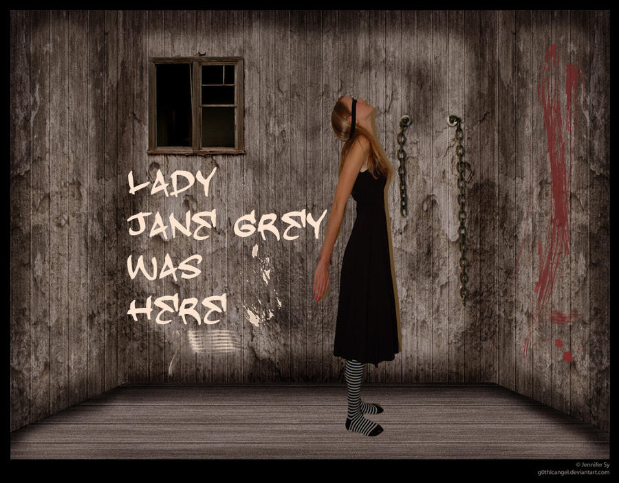 Lady Jane Grey in Prison by Urceola