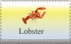 Lobster Stamp by Urceola