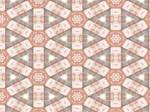 Kaleidoscope in Brown, Orange by Urceola