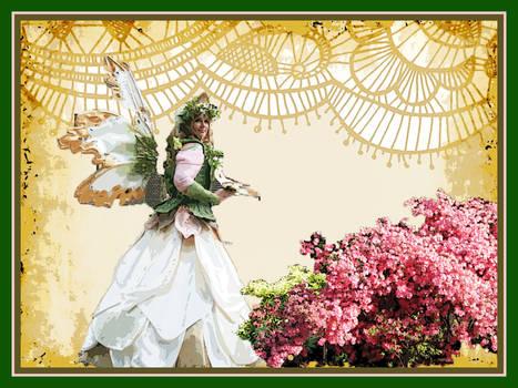 Elven Queen_White-Petal Dress