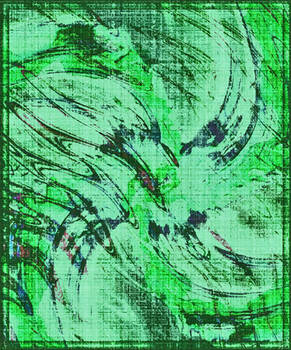 Vortex en Vert Marin