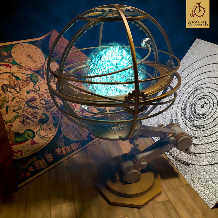 Armillary sphere by Kurczak