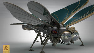 Hood Steampunk Ornithopter