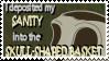 Skull Shaped Basket Stamp