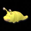 Spore- Yellow Neptunian Slug by Officer-1BDI