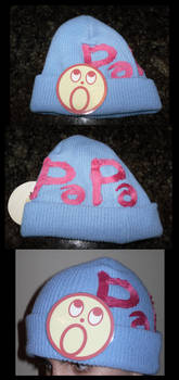AA- Badge and PaPa Hat