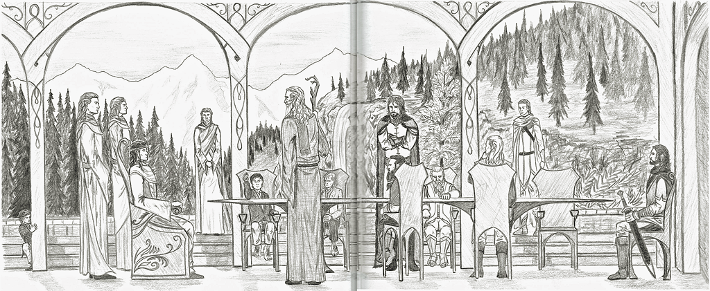 Council of Elrond by Snow-Monster