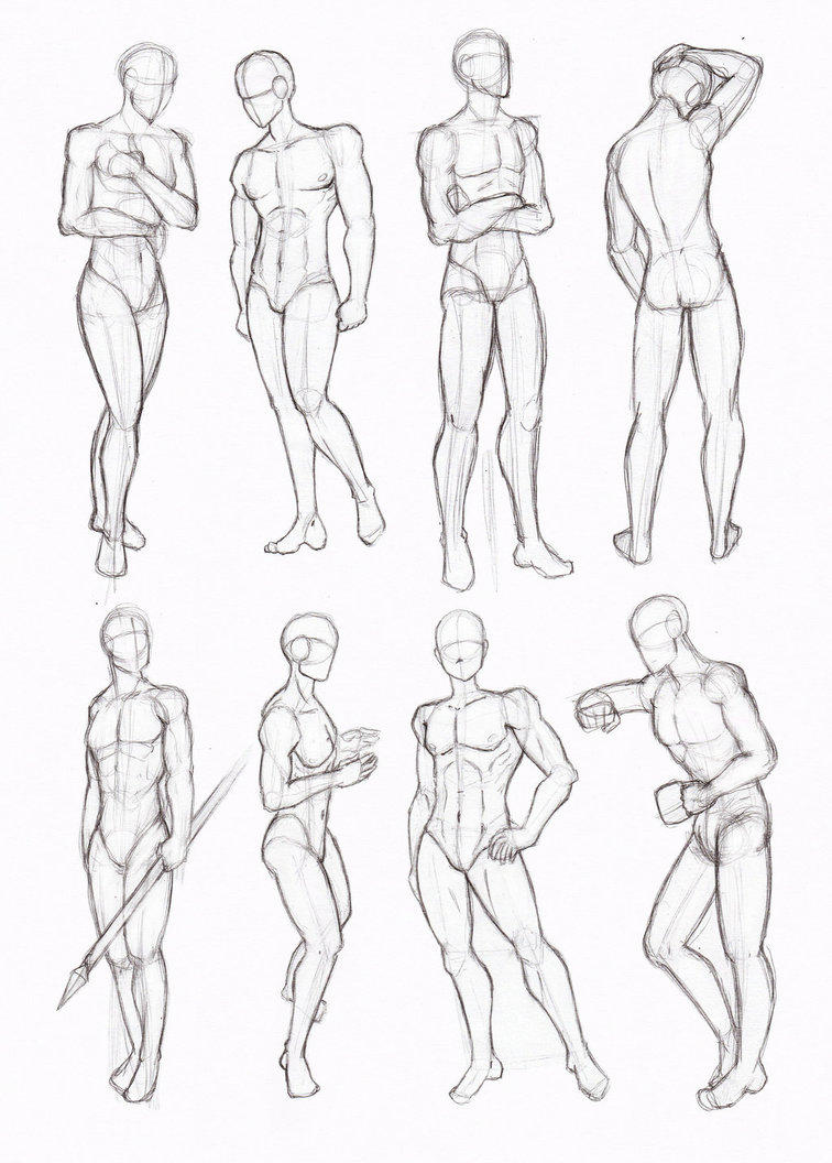 Male Body Reference By Senpaishortie On Deviantart