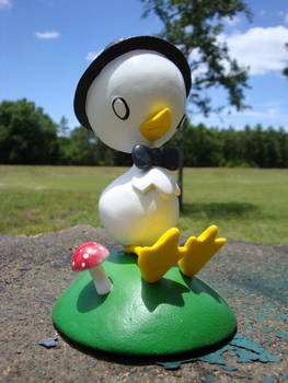 O Pato sculpture