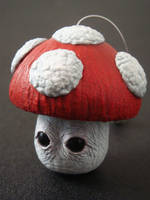 Realistic Mario Mushroom by Kalapusa