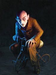 Nosferatu On A Tricycle