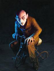 Nosferatu On A Tricycle by Kalapusa