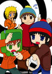 South Park Anime-colored