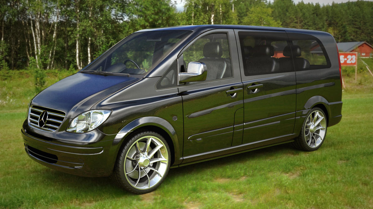 Mercedes Benz Vito By Blacklizard1971 On Deviantart