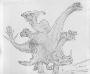 Polyzygocephalosaurus by Lexinator117