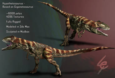 Hypothetosaurus by Lexinator117