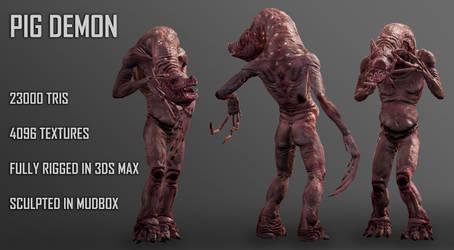Pig Demon by Lexinator117