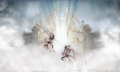 Biblical Beasts Behemoth vs Leviathan by Lexinator117