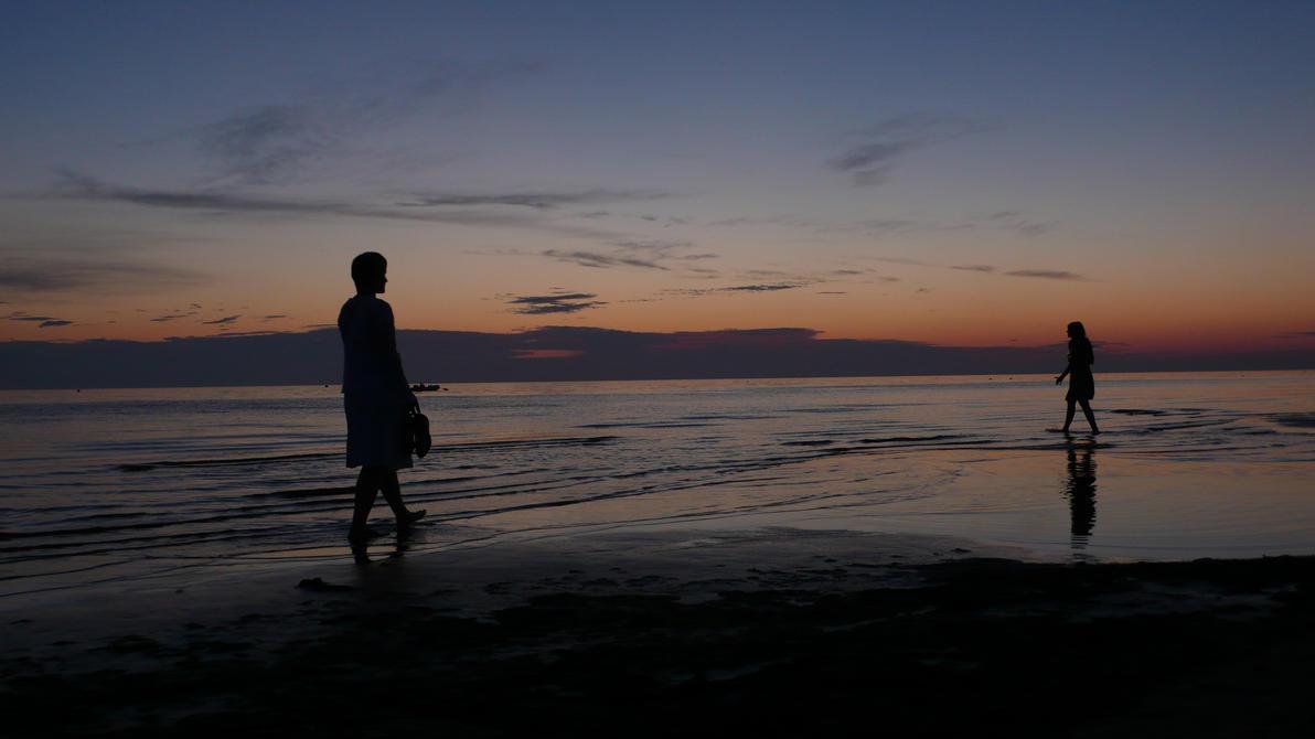 Walking in the Water by AlexanderFreud