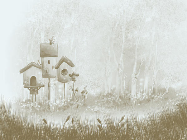 Fantasy - Brown Shed by Rahul964