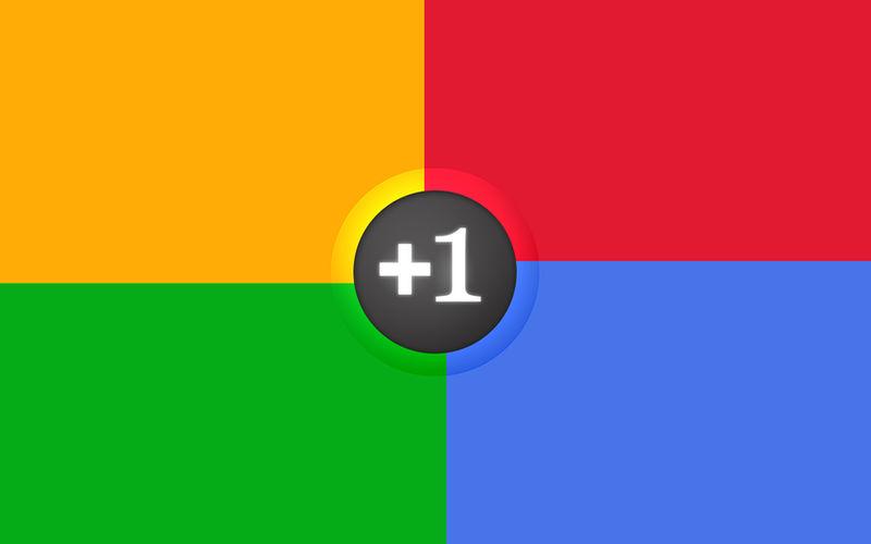 Google+ Plus Colors Wallpaper