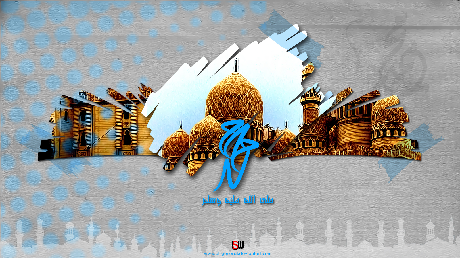 15 Beautiful And Colourful 3D Islamic Wallpapers To Download