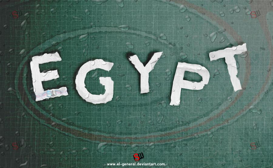 egypt Rain by el-general