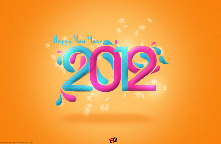 2012 wallpaper by el-general