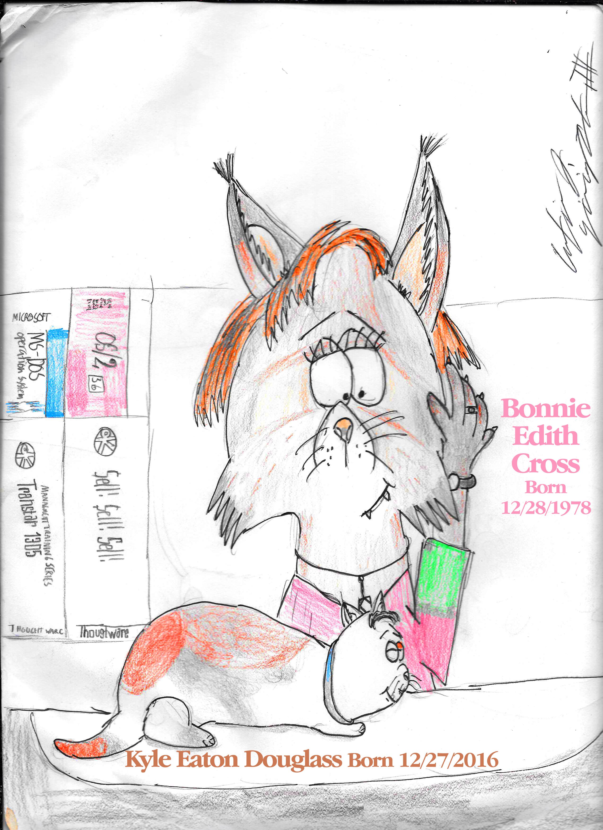 The Cross Lynx Of Both Felines by citynetter