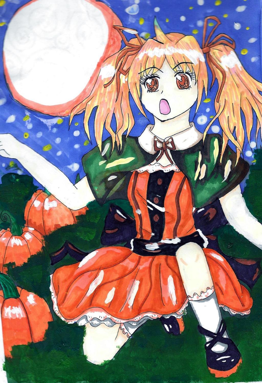 Pumpkins by AnimeInMyPocket