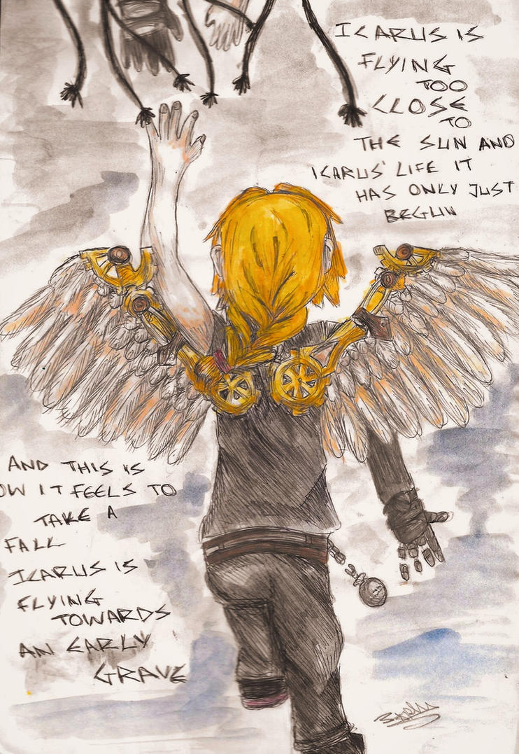 Icarus by AnimeInMyPocket