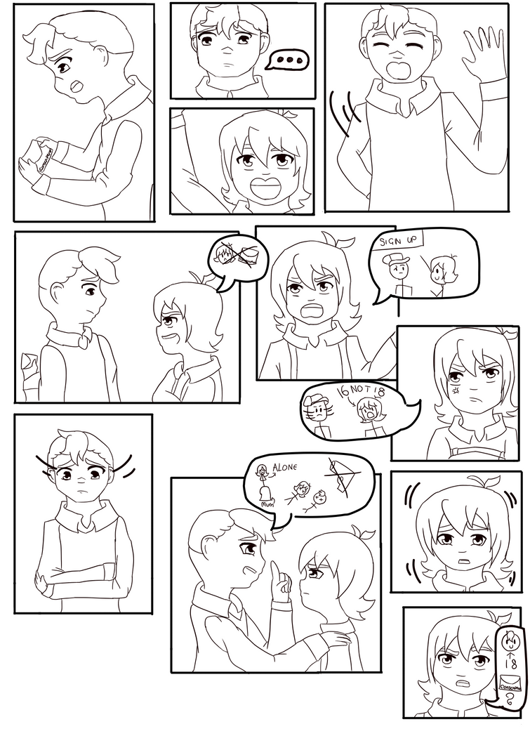 Brothers : A Voltron Comic : Page One by AnimeInMyPocket