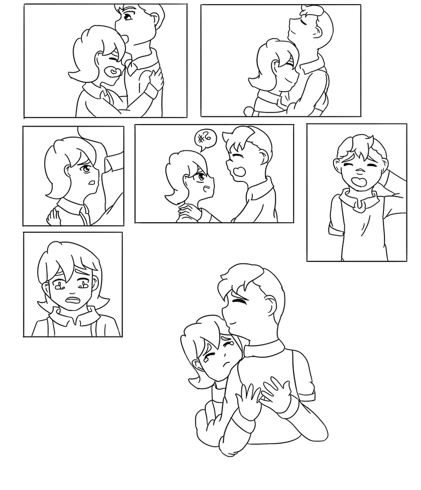 Brothers : A Voltron Comic : Page Three by AnimeInMyPocket