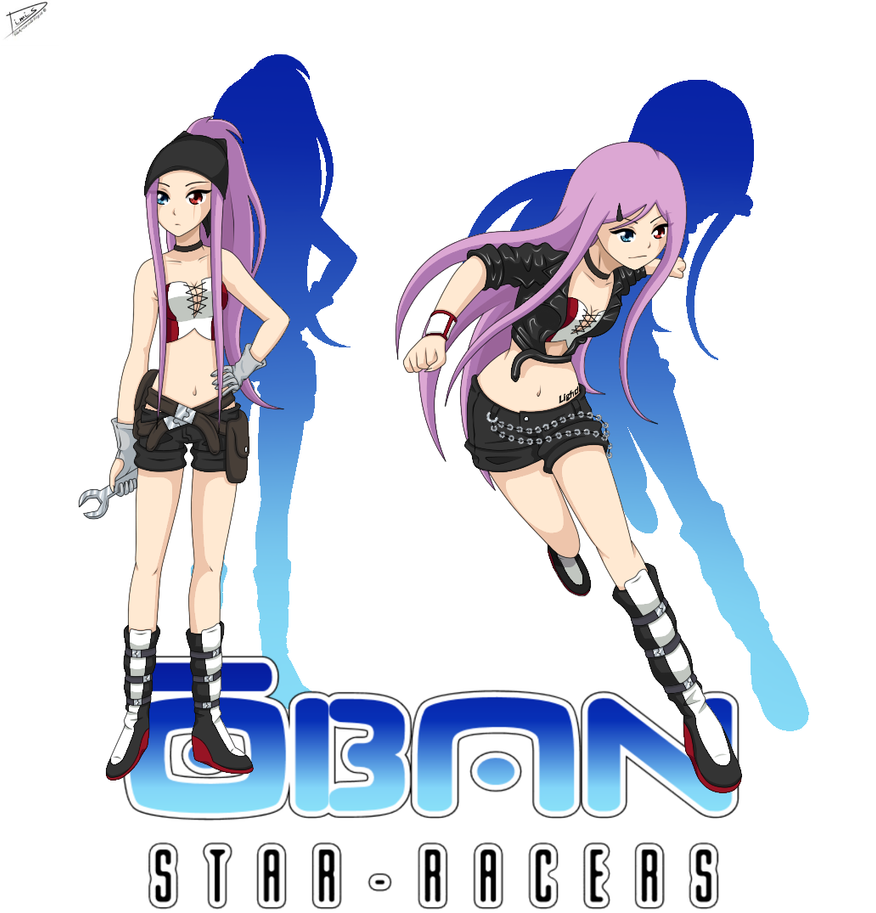 Oban star racers outfits by kiryuu244 on deviantart