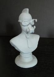 Doc. Steam Bust by MondoArtistStudio